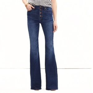 Madewell Flea Market Flares in Myers Wash